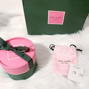 Kate Spade | White Pearl Earring Gift set